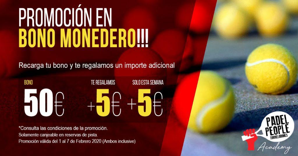 PROMOCION BONO MONEDERO FEBRERO 2020